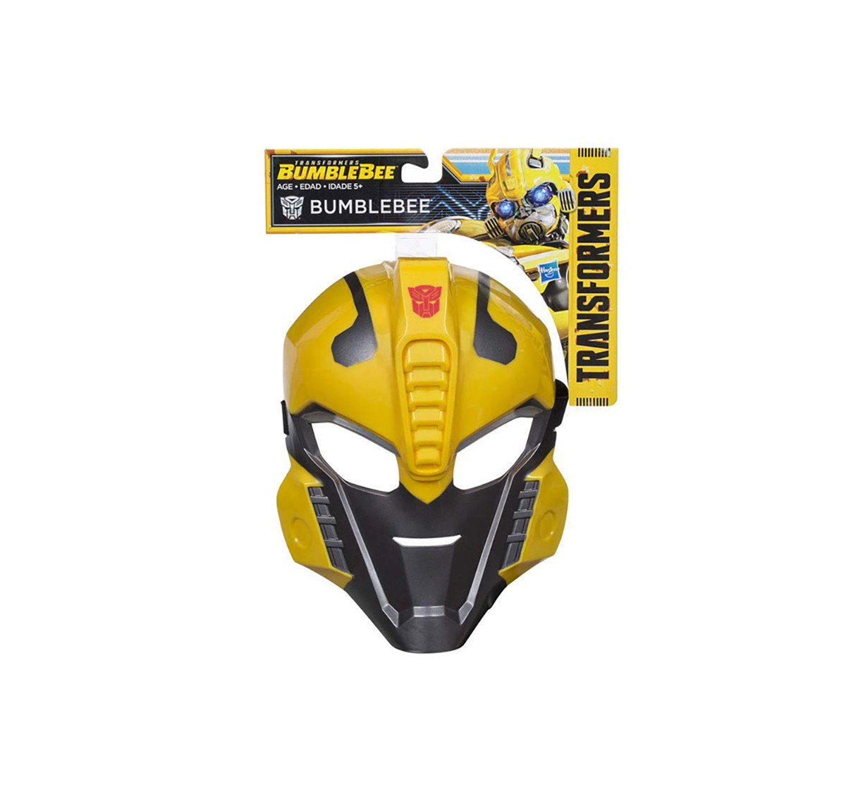 Transformers Bumblebee Mask Action Figure Play Sets for Kids age 5Y+