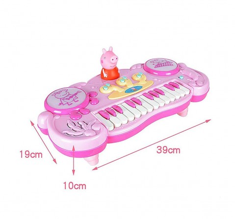 Peppa Pig Pink Piano Musical Toys for Kids age 24M+