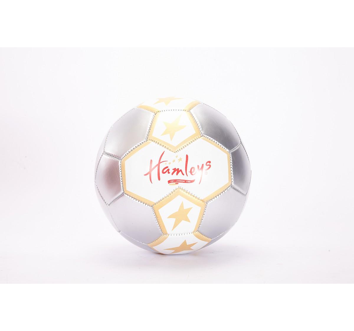 Hamleys Star Metallic Football for Kids age 3Y+ (Grey)