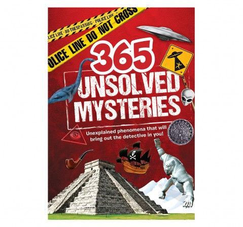 Om Books: 365 Unsolved Mysteries, 236 Pages, Hardcover