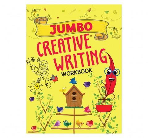 Creative Writing : Jumbo Creative Writing Workbook, 128 Pages Book, Paperback