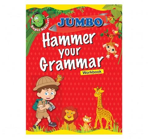 Grammer : Jumbo Hammer Your Grammer Activity Workbook, 128 Pages Book, Paperback