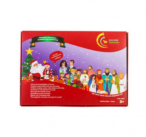 Culture Carousel - Elements Of Christmas Magnetic Kit Puzzle for Kids age 3Y+