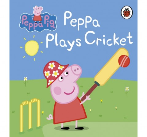 Peppa Pig: Peppa Plays Cricket, 16 Pages Book by Ladybird, Board Book