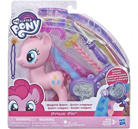 My Little Pony Toy Magical Salon Hair-Styling Fashion Pony With Accessories Assorted Collectible for Girls age 3Y+