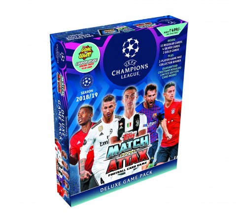 UEFA Champions League Deluxe Game Pack 2018-19 Collectibles for Kids age 5Y+