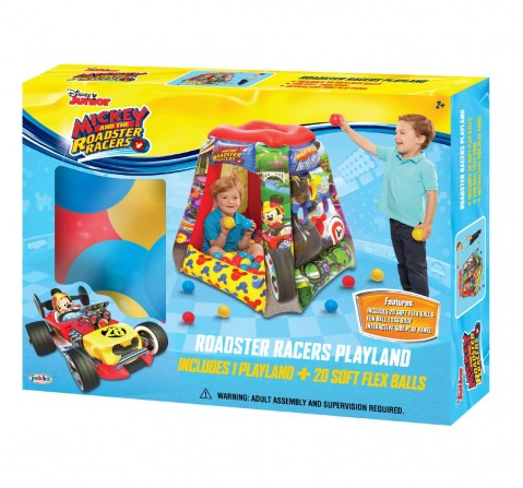 Disney Mickey Mouse Go To With 20 Balls Baby Gear for Kids Age 2Y+