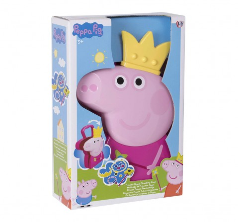 Peppa Pig Jewellery Case Toy Girls Accessories for Girls age 3Y+