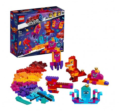Lego The Movie 2 Queen Watevra's Build Whatever Box (455 Pcs) 70825  Blocks for Kids age 6Y+