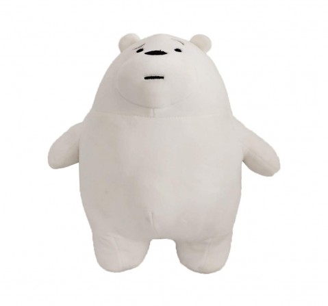We Bare Bear Ice Bear Plush 30 Cm Toy for Kids age 1Y+ (White)