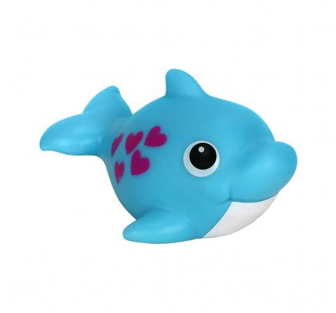 Hamleys Splash Light Up Dolphin  -Blue Bath Toys & Accessories for Kids age 2Y+ (Blue)
