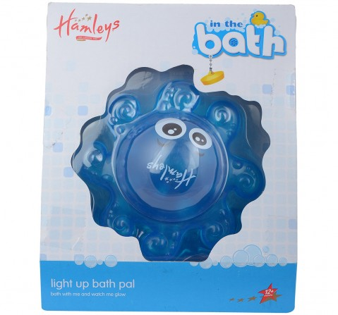 Hamleys Floating Light Up Octopus - Blue Bath Toys & Accessories for Kids age 2Y+ (Blue)