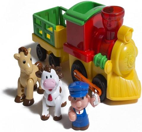 Hamleys Musical Choo Choo Train Learning Toys for Kids age 18M +