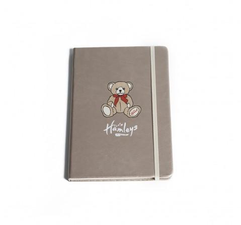 Hamleys A5 Notebook Bear Study & Desk Accessories for Kids age 5Y+ (Beige)
