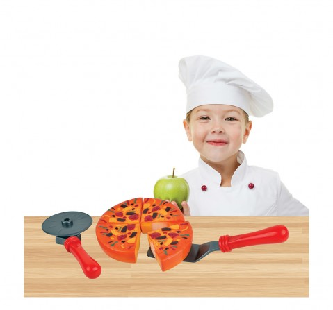 Hamleys My Little Pizza Playset-6Pcs Supermarket & Food Playsets for Kids age 2Y+