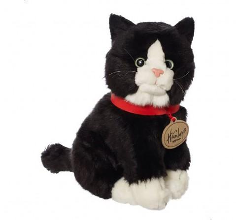 Hamleys Black Cat Animals & Birds for Kids age 12M+ - 9 Cm (Black)
