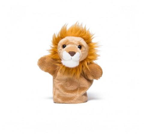 Hamleys Leo Lion Hand Puppet Dolls & Puppets for Kids Age 12M+ - 66 Cm (Brown)