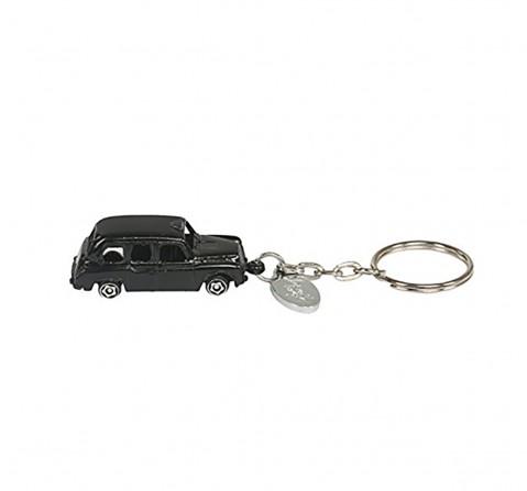 Hamleys London Taxi Keychain, Black Plush Accessories for Kids age 12M+ - 7 Cm (Black)