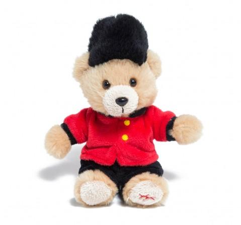 Hamleys Bear Guardsman Keyring Plush Accessories for Kids age 12M+ - 22 Cm
