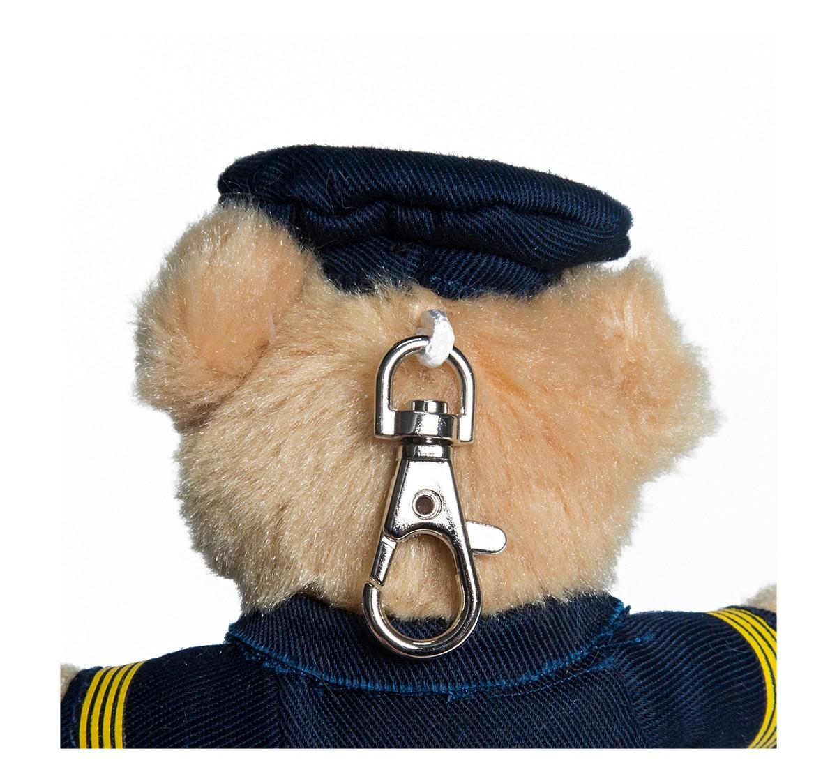 """Hamleys 4.5"""" Pilot Keychain-Beige Plush Accessories for Kids age 12M+ - 4 Cm (Beige)"""