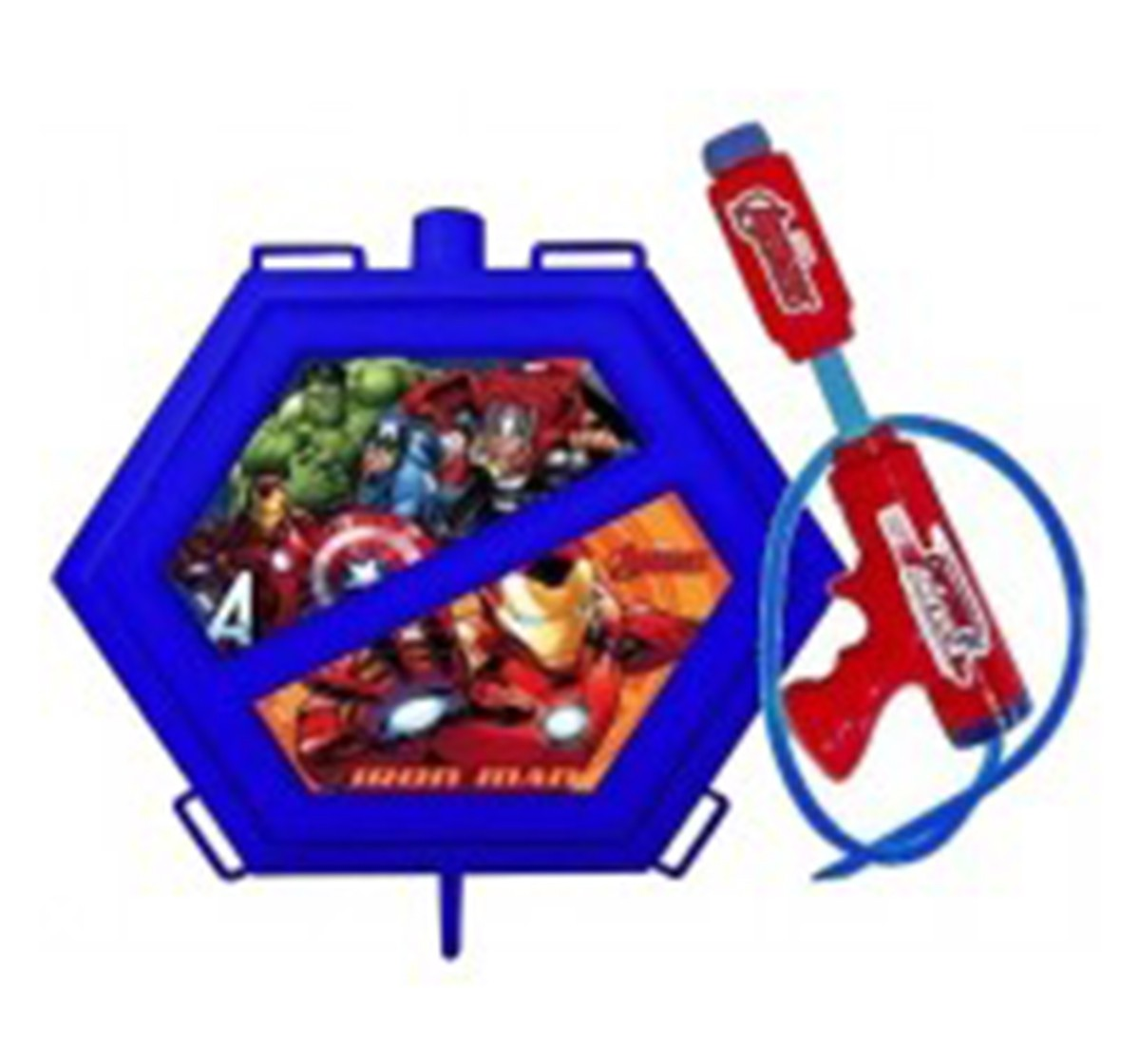 HoliAvengers Hex Tank with Gun (Colour & Design may vary)