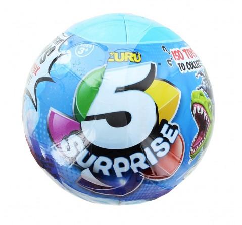 Zuru 5 Surprise Miniature Toy Mystery Ball - Boy Novelty for Kids age 3Y+