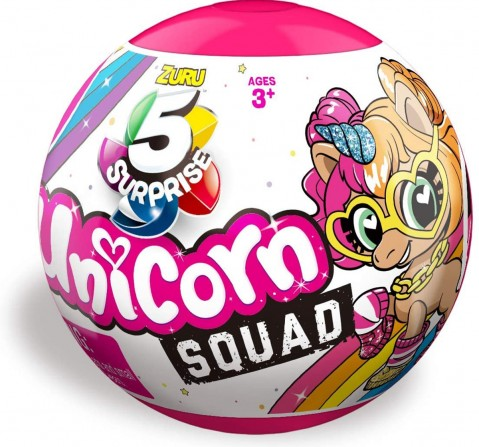 5 Surprise Zuru A Magical Unicorn Novelty for Kids age 3Y+ (White)