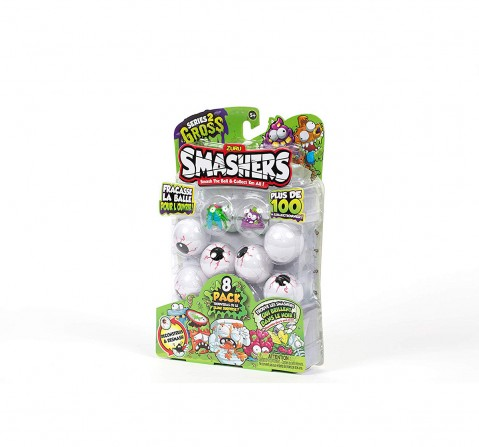 Smashers Smashball Collectables Series2 (8 Pack) Novelty for Kids age 5Y+