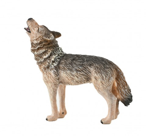 Collecta -Timber Wolf Howling animal figure, 3Y+