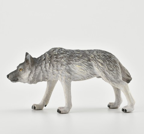 Collecta -Timber Wolf Hunting animal figure, 3Y+