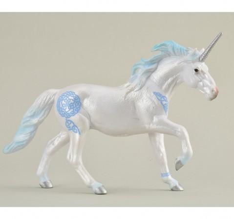 Collecta Unicorn Stallion Blue Animal Figure for Kids age 3Y+