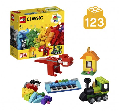 Lego Classic Bricks And Ideas Building Blocks (123 Pcs) 11001  for Kids age 4Y+
