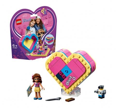 Lego Friends Olivia's Heart Box Building Blocks (85 Pcs) 41357  for Girls age 6Y+