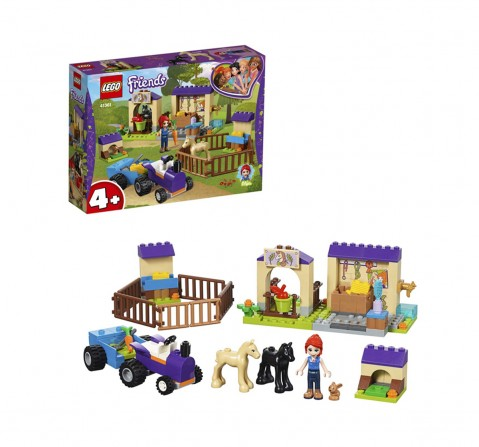 Lego Friends Mia's Foal Stable Building Blocks (118 Pcs) 41361  for Girls age 4Y+