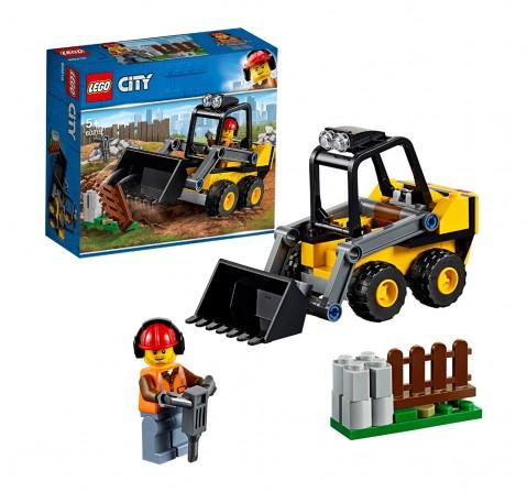 Lego City Construction Loader Building Blocks (88 Pcs) 60219  for Kids age 5Y+