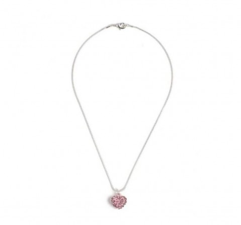 Luvley Rhinestone Pink Heart Pendant Toileteries and Makeup for Girls age 3Y+