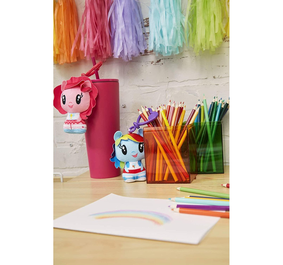My Little Pony : Cutie Mark Crew Plush Clip Assorted Collectible Dolls for Girls age 3Y+