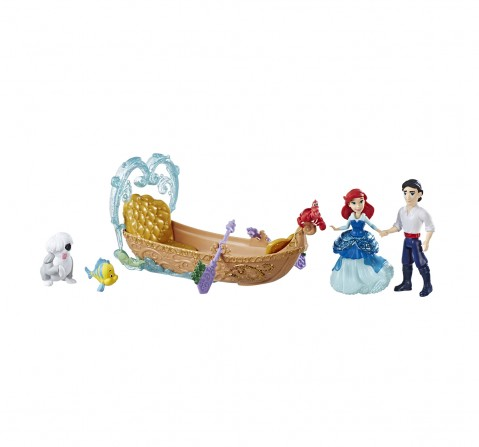 Disney Princess Evening Boat Ride, Ariel And Prince Eric Dolls  Dolls & Accessories for Girls age 3Y+