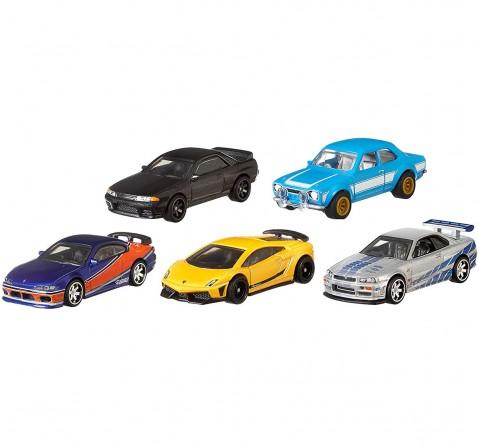 Hot Wheels 1:64 Fast Furious Premium Die Cast Car Tracksets & Train Sets for Kids age 12Y+