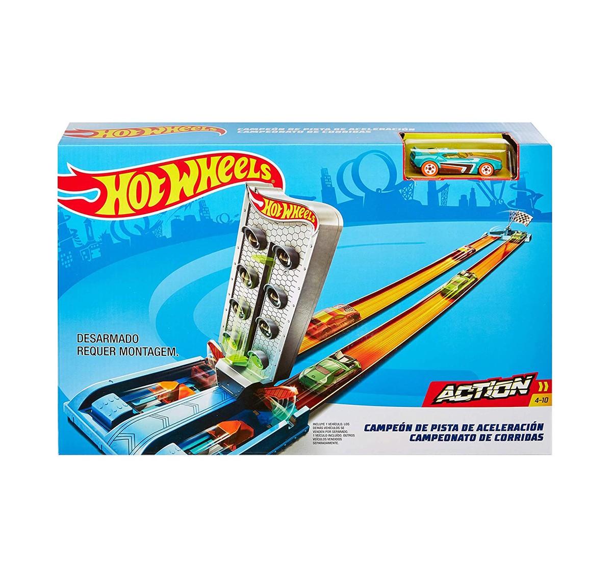 Hot Wheels Championship Trackset Tracksets & Train Sets for Kids age 4Y+