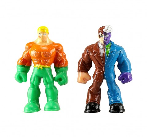 DC Super Friends Aquaman & Two Face Slime Mix with 2 Liquid & 1 Jelly Slime