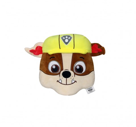 Paw Patrol Face Playtoy Rubble Plush Accessories for Kids age 12M+ - 30.48 Cm
