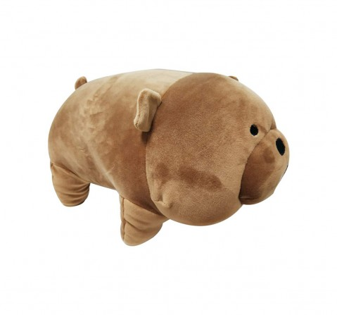 We Bare Bear Grizzly Bear Soft Toy for Kids age 1Y+ - 40 Cm (Brown)