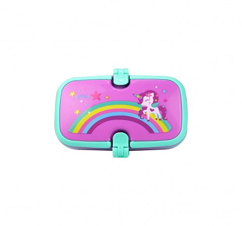 Smily Kiddos Unicorn Lunch Box & Bags for Kids age 3Y+