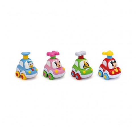 Disney Baby Press N Go Cars Assorted Activity Toy for Kids age 12M+