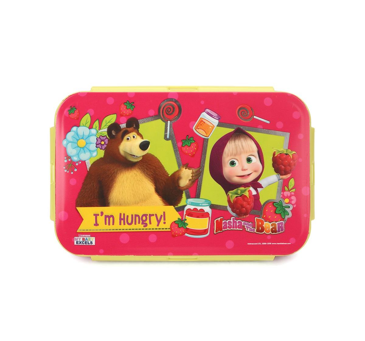 Masha & Bear Pink Lunch Box, 2Y+