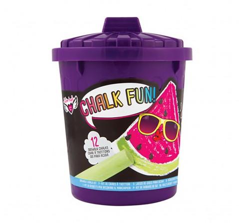 Fashion Angels Garbage Can Of Chalk Fun! DIY Art & Craft Kits for Girls age 6Y+