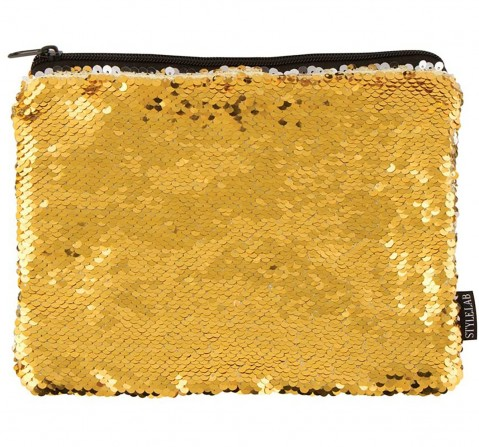 Fashion Angels S.Lab Sequin Pouch-Gold Silver Pencil Pouches & Boxes for Girls age 6Y+