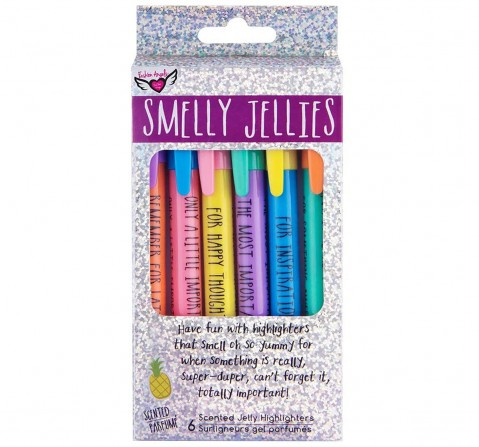 Fashion Angels Smelly Jelly Scented Highlighters School Stationery for Kids age 6Y+