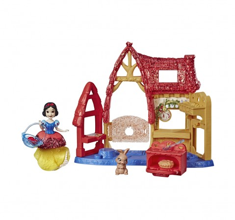 Disney Princess Cottage Kitchen And Snow White Doll Dolls & Accessories for Girls age 3Y+